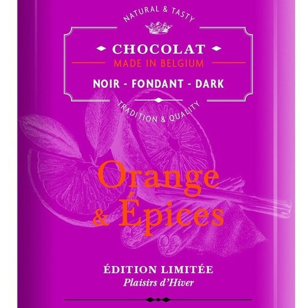 Dolphin Chocolat Noir Orange & Epices